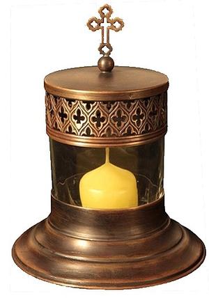 Vigil lamps: Oil lamp - 79