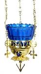 Vigil lamps: Oil lamp no.2 (cross)