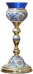 Vigil lamps: Oil lamp no.2 (enamel)