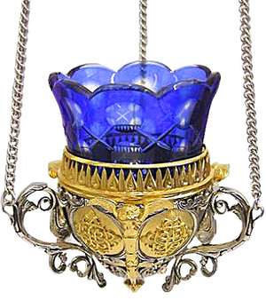 Vigil lamps: Oil lamp no.3 (filigree)
