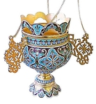 Vigil lamps: Oil lamp no.6 (filigree)