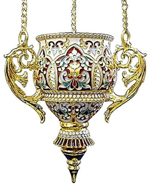Vigil lamps: Oil lamp no.7 (filigree)