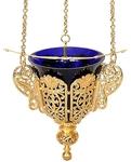 Vigil lamps: Oil lamp no.29 (gold)