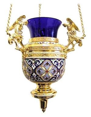 Vigil lamps: Oil lamp - 72