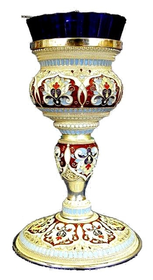 Vigil lamps: Oil lamp for Holy table - 3