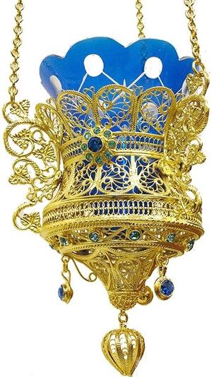 Vigil lamps: Oil lamp no.20