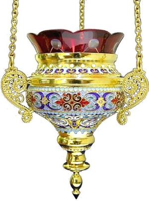 Vigil lamps: Oil lamp no.3-4