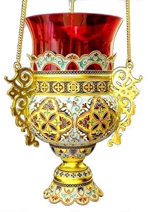 Vigil lamps: Oil lamp no.6-3