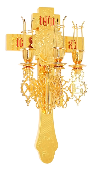 Paschal three-candle holder no.2
