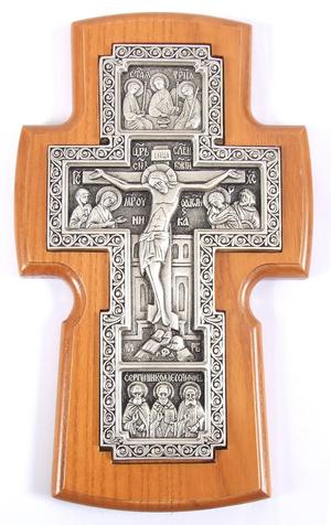 Wall crucifixion - 5c