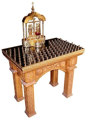 Church furniture: Panikhida table - 5