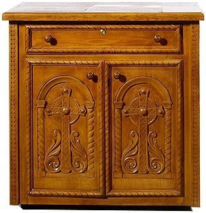 Church furniture: Nice panikhida table