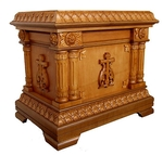 Church furniture: Double litiya table