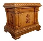 Church furniture: Double litiya table