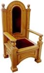 Church furniture: Bishop throne