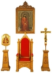 Processional Altar icon set
