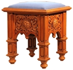 Church furniture: Clergy stool