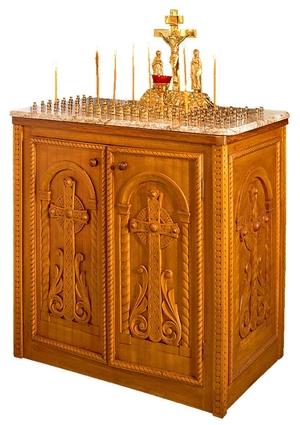 Byzantine panikhida table