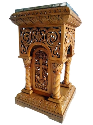 Church furniture: Jerusalem panikhida table