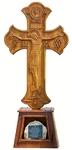 Church furniture: Standing crucifixion