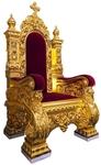 Church furniture: Koursk Bishop throne