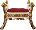 Church furniture: Lion Bishop throne