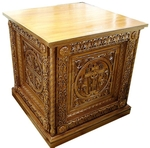 Church furniture: Sinai altar carved table