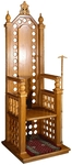 Church furniture: Hegumen's stasidia