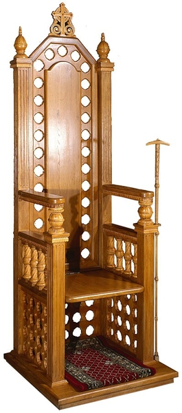 Church furniture: Hegumen's stasidia