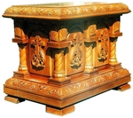 Church furniture: Aksios altar table