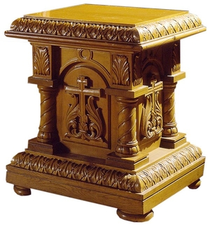 Church furniture: Sarov litia table