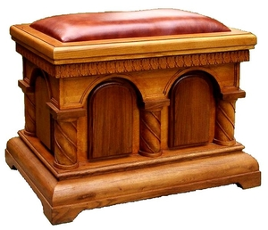 Church furniture: Church pew cmall