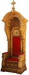Church furniture: Bishop's throne - 1