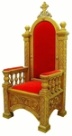 Church furniture: Bishop's throne - 3