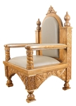 Church furniture: Bishop's throne - 6