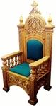 Church furniture: Bishop's throne - 7