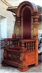 Church furniture: Bishop's throne - 8