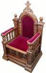 Church furniture: Bishop's throne - 9