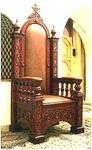 Church furniture: Bishop's throne - 10