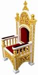 Church furniture: Bishop's throne - 4