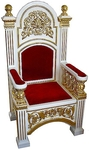 Church furniture: Bishop's throne - 5