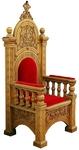 Church furniture: Bishop's throne - 5-3