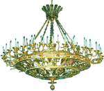 Two-level church chandelier (horos) - 1