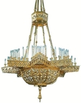 Horos church chandelier (72 lights)