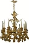 One-level church chandelier - 8 (12 lights)