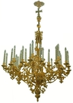 One-level church chandelier - 11 (36 lights)
