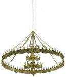 Three-level church chandelier (horos) - 3 (92 lights)