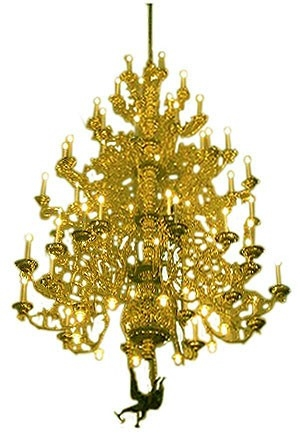 Five-level church chandelier - 1