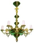 One-level church chandelier - 14 (6-12 lights)