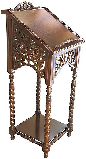 Church lecterns: Lectern no.1